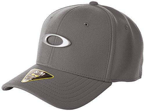 Oakley Men's Tincan Cap, Grigio Scuro, Small/Medium