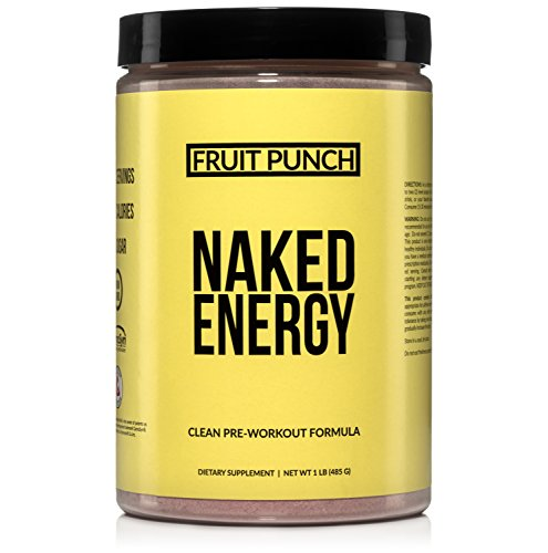 Fruit Punch Naked Energy – Fruit Punch Flavored All Natural Pre Workout Supplement for Men and Women, Vegan Friendly, No Added Sweeteners, Colors or Flavors – 30 Servings by NAKED nutrition (Image #5)