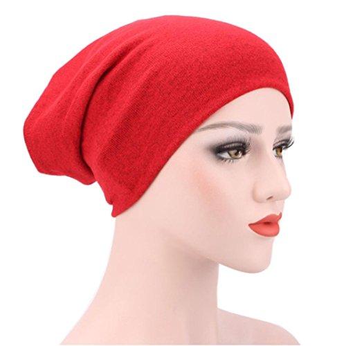 Egmy 2017 Donne Musulmano Cappello Turbante Elastico Berretto Chemo Cap Testa Di Perdita Di Capelli Hijib Cap D