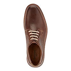 Dockers Men's Parkway Oxford, Brown-222, 10.5 M US