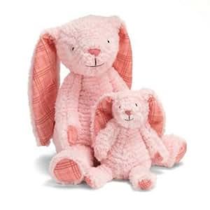 Manhattan Toy - Conejito de peluche rosa