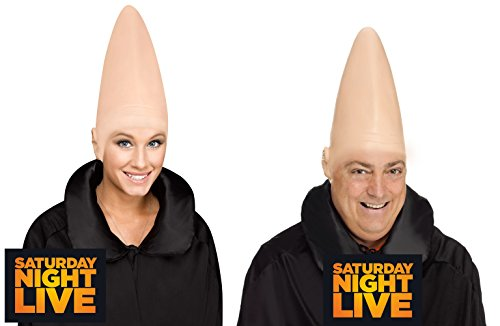 SNL Saturday Night Live Officially Licensed Conehead - Costume Accessory - Latex Cap