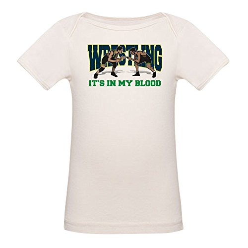 CafePress Wrestling It's in My Blood Organic Baby T Shirt Organic Cotton Baby T-Shirt