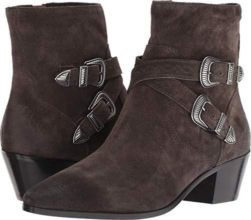 FRYE Womens Ellen Buckle Short Ankle Boot Grigio Size - Ankle Strap Frye Heels