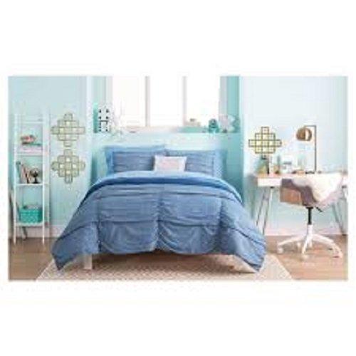 Xhilaration 3 Pc Blue Queen Size Comforter Set