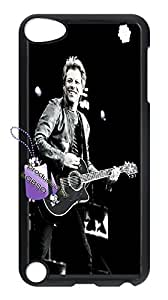 Back case for ipod touch5,cases for ipod touch5,ipod touch5 cover case,DIY Bon Jovi case with Bknso_9558329(Black).