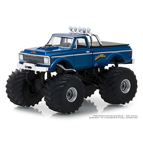 (King of Crunch 1/64 1970 Chevy K-10 Monster Truck, USA-1 Heritage, Series 2 49020-B)