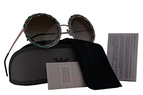 Emporio Armani EA2054 Sunglasses Silver Green w/Green Gradient Lens 55mm 31678E EA - Emporio Ea2001 Armani