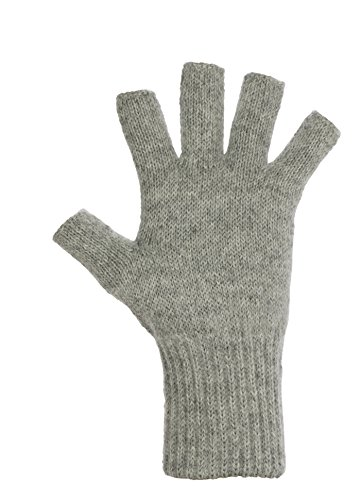(DARN WARM Alpaca GLOVES - Fingerless - GUARANTEED SOLUTION for COLD HANDS - World's Best Natural Thermal Management - ALOE Infused - Perfect for TOASTY Home Time and OUTDOOR Activities)