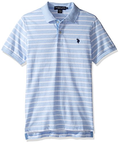 us-polo-assn-mens-slim-fit-solid-short-sleeve-slub-shirt-artist-blue-l