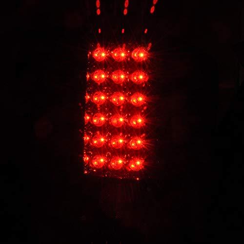 Spec-D Tuning LT-TIT04GLED-TM Spec-D Led Tail Lights Smoke