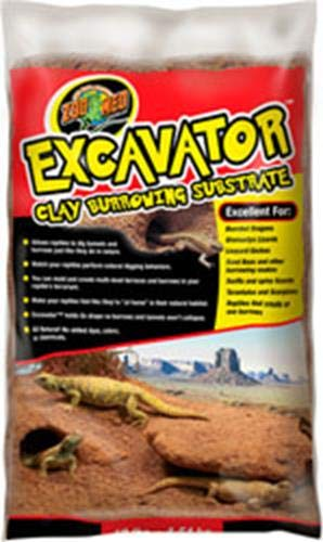 Zoo Med Laboratories 690108 Excavator Clay Burrowing Substrate by Zoo Med