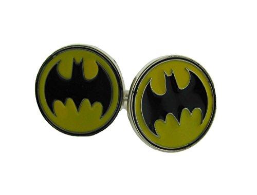 Batman CuffLinks Comics Usa American Superhero Mens Official Costume Cuff links ()