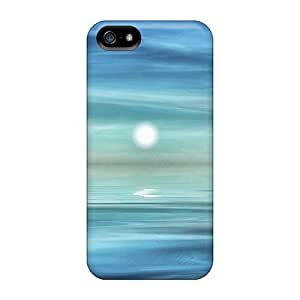 Iphone 5/5s Cases Covers Alone Under The Moon Light Cases - Eco-friendly Packaging