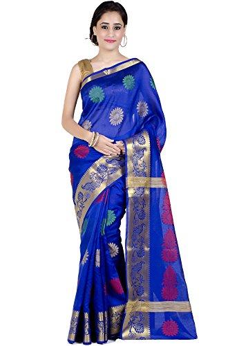 Royal Blue Saree - 6
