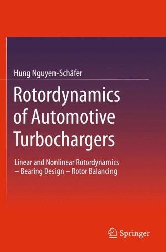 (Rotordynamics of Automotive Turbochargers: Linear and Nonlinear Rotordynamics – Bearing Design – Rotor)