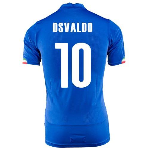 引き受ける近似特徴づけるPUMA OSVALDO #10 ITALY HOME JERSEY WORLD CUP 2014/サッカーユニフォーム イタリア代表 レプリカ?ホーム用 ワールドカップ2014 背番号10 オスバルト