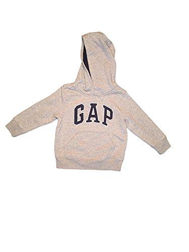 (GAP Little Boys Pullover Hoodie (3, Grey))