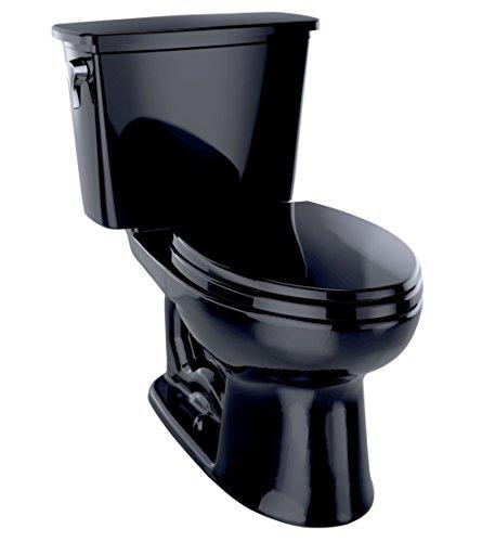 Toto CST744EN#51 Eco-Drake Elongated Bowl Toilet, Ebony