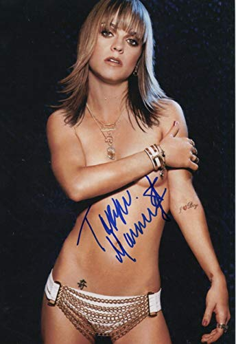 Taryn Manning Signed Orange is The New Black Sons of Anarchy Color 8x10 Photo C