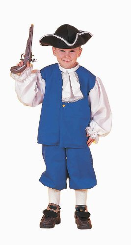 Group Costumes For 8 People (Colonial Boy Costume, Child's Medium)