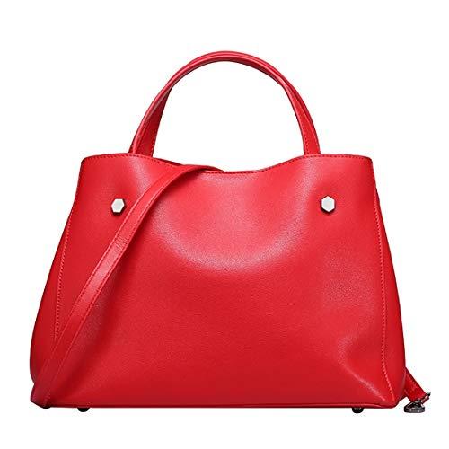 À Red L'atmosphère Pure Conception Et color Simple Une Épaule Séparable Yy3 Bandoulière Red Portable Jessiekervin La Sac Couleur a7wEqOx0