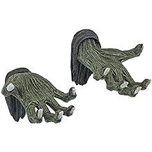 Hands of the Undead Zombie Wall Sculptures - Zombie Statue - Halloween Prop