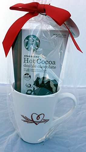 Starbucks Single Mug, Hot Cocoa Valentine's Day Gift (Double Chocolate)