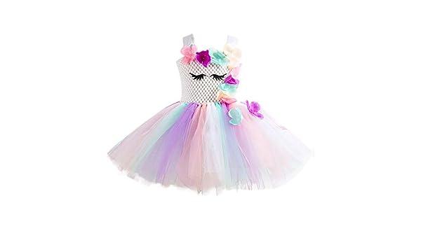 Lumanuby. Princesa Niña Bebé Disfraz de Unicornio Ceremonia ...
