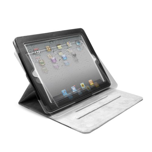 iLuv Pangborn Collection Portfolio Case with Enhanced Viewing Angles for Apple iPad 4,  iPad 3rd Generation and iPad 2 (iCC838ABS)