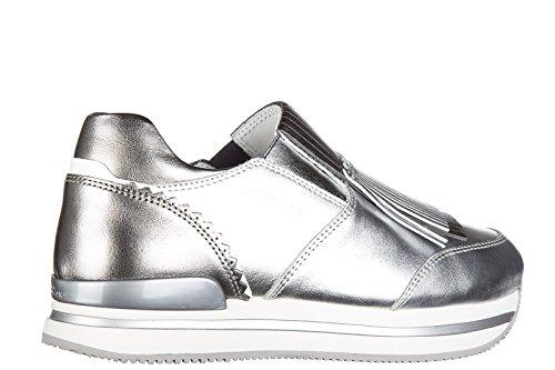 Hogan Dame Styre Slip På Release Sneakers Silber vAdMqO