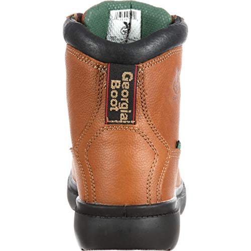 Pictures of Georgia Farm and Ranch Waterproof Boots G6503 Briar Brown 5