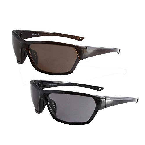 Solaray Sport Sunglasses 2-Pack Bundle for Hiking, Outdoors, Fishing, - Glasses Solaray