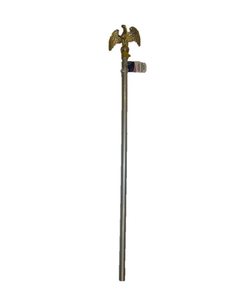 【人気ショップが最安値挑戦!】 10 10 '調整可能アルミ製伸縮式旗竿旗ポールゴールド/真鍮Eagle B01N0UP75D B01N0UP75D, ゲットマン:6e44fdd7 --- domaska.lt