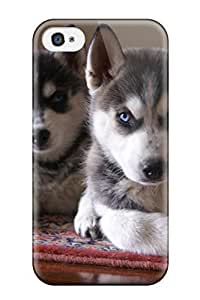 iphone covers New Fashion Case case Protector For Iphone 6 plus Siberian Husky Dog case cover Sending Free Screen Protector Q1fPZrlLD6m