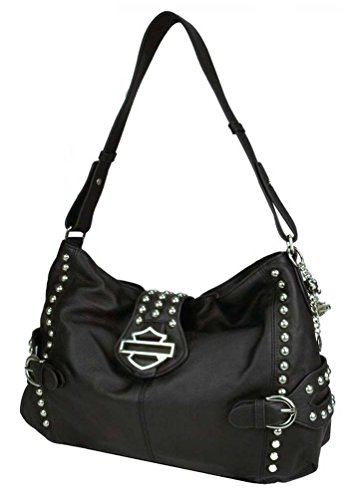 Harley Davidson Womens Leather Shopper RD6298L BLACK