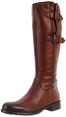 Clarks Women's Mullin Spice Harness Boot, Tan Leather, 6.5 M US
