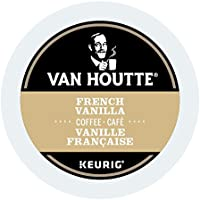 Van Houtte French Vanilla Single Serve Keurig Certified Recyclable K-Cup pods for Keurig brewers, 24 Count