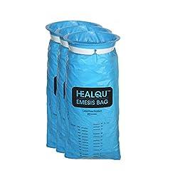 Blue Emesis Bags, Disposable Vomit Bags,...