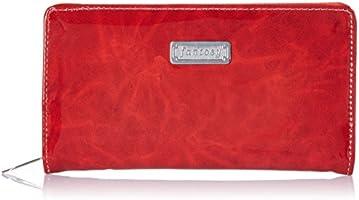 Fantosy Women's Wallet (Red, FNWC-050)