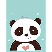 Sketch book: Cute panda  cover (8.5 x 11)  inches 110 pages, Blank Unlined Paper for Sketching, Drawing , Whiting , Journaling & Doodling
