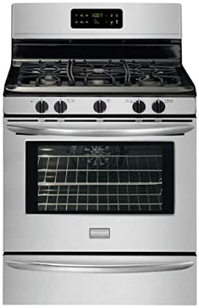 """Gallery Series 30"""" Freestanding Gas Range with 5 Cu. Ft. Quick-Bake Convection Oven Color: Stainless Steel"""