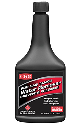 CRC Industries, Inc 05343 12 Ounce Water Remover for Gas Tanks (Isopropyl)