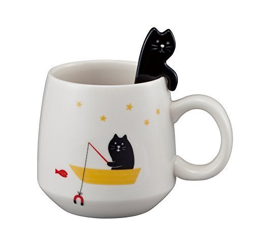 CONCOMBRE-Cat-Mug-Spoon-Set