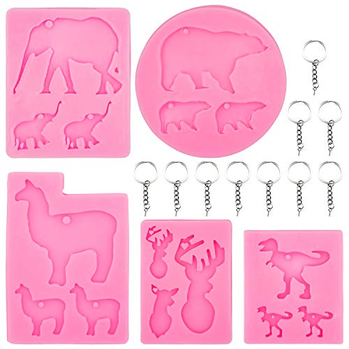 Great Animal Molds for Resin, Candy, and More!
