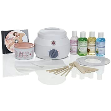 Satin Smooth SSW09C Professional Single Wax Warmer Kit, Deluxe Cream