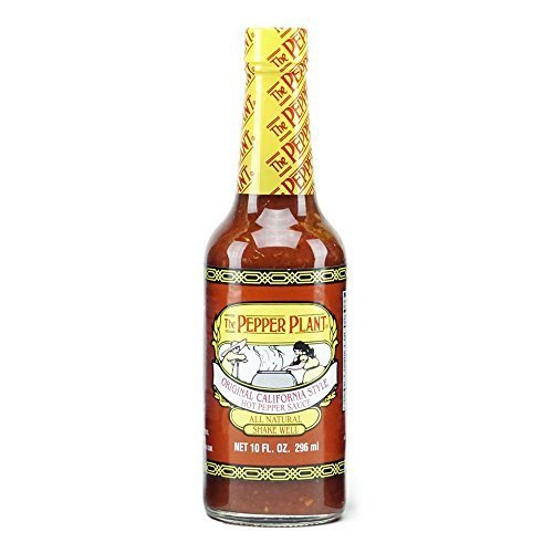 The Pepper Plant Original California Style Hot Sauce 10 Fl. Oz. 3-pack by The Pepper ()