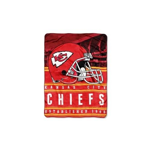 - NFL Kansas City Chiefs Stacked Silk Touch Throw, 60