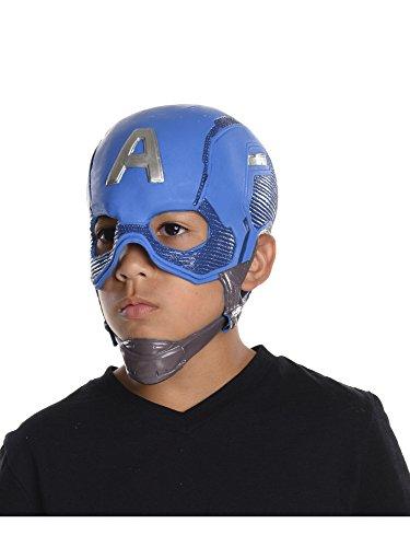 Rubies Costume Captain America: Civil War Kids Captain America Full Vinyl Mask