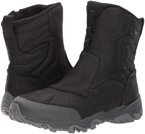 """Merrell Men's Coldpack Ice+ 8"""" Zip Polar Waterproof Snow Boot"""